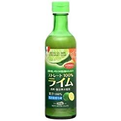メキシコ産ライム果汁290ml ストレート100%果汁 香料・保存料不使用がまじ萌えることに今更気付いた