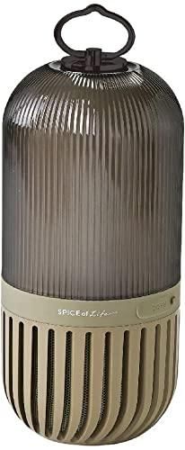 揺れるSPICE OF LIFE(スパイス) ゆらぎカプセルスピーカー カーキ Bluetooth 防塵 防水 LED 充電式 CS2020KH