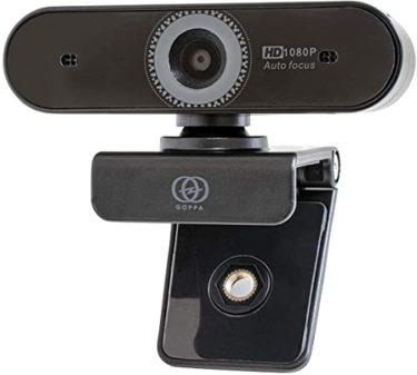 磨きぬかれたGOPPA ウェブカメラ オートフォーカス機能搭載 フルHD 200万画素 1920×1080対応 マイク内蔵 GP-UCAM2FA/E